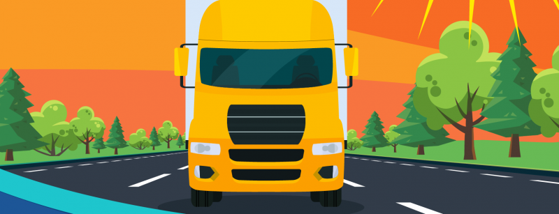 Cool Driving During Summer Trucking (Infographic)